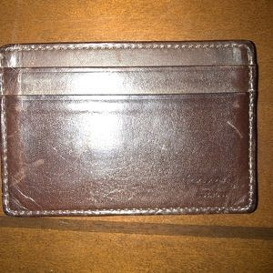 ‼️Men's Coach Money Clip Wallet